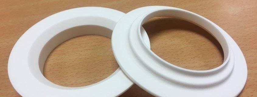 Machined Alumina Rings 2 - Almath Crucibles Ltd.
