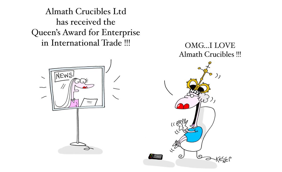Almath wins Queen's Award for Enterprise
